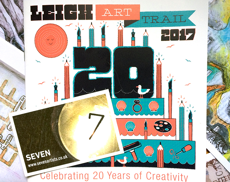 SEVEN at Leigh Art Trail 2017